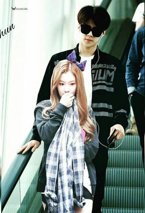 Sehun and irene dating sim
