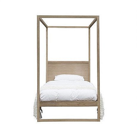 Bed King Single Strand 4 Poster In Teakwood By Uniqwa Furniture