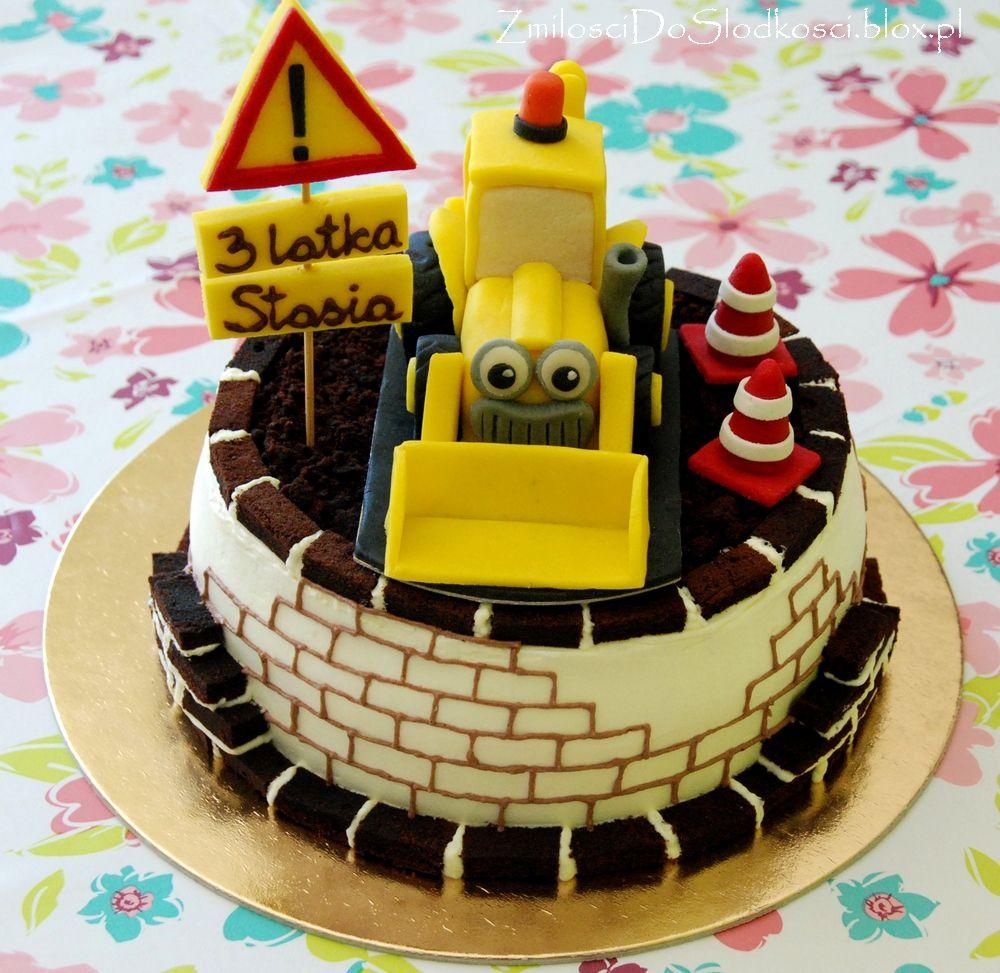 Torty Excavator Cake And Cake