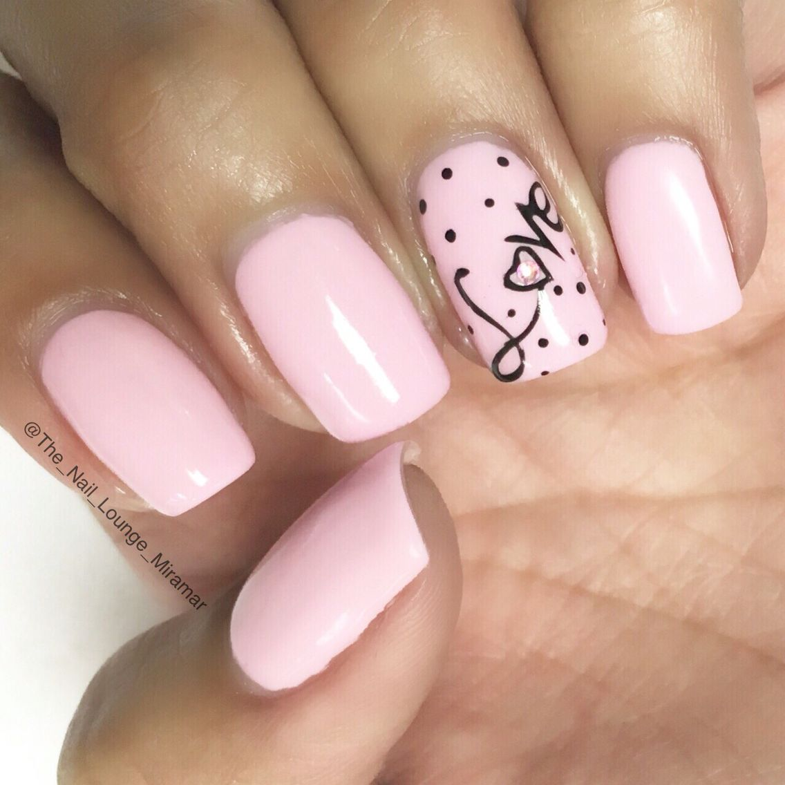 Valentines love nail art design | Nail Art | Pinterest | Acrylic gel ...