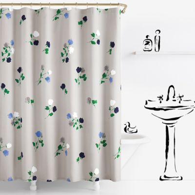 Kate Spade New York Willow Court Shower Curtain Grey Kate Spade
