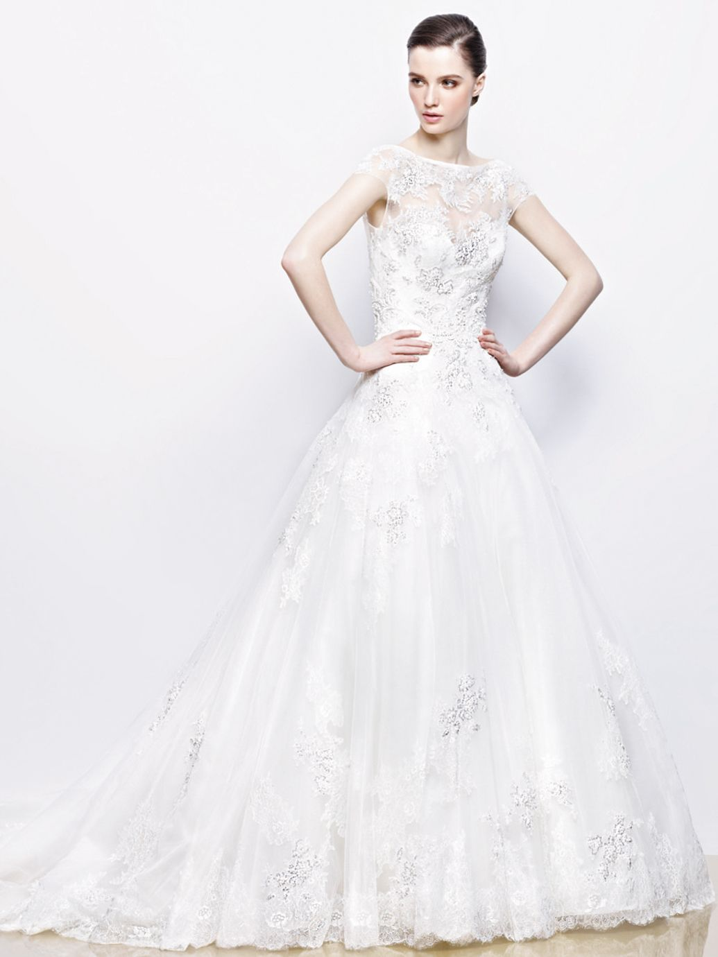 IVONNE / Enzoani Collection / Enzoani / Available Colours : Ivory ...
