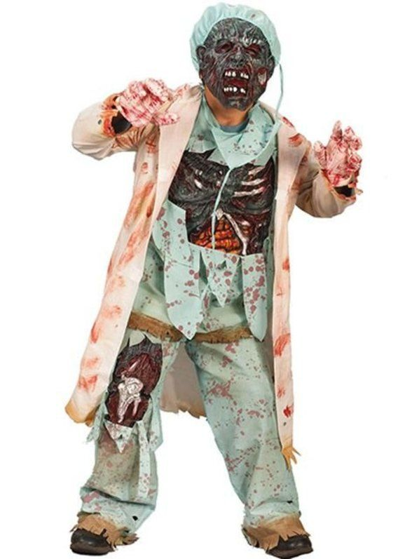 halloween zombie doctor costume for child - Kids Doctor Halloween Costume