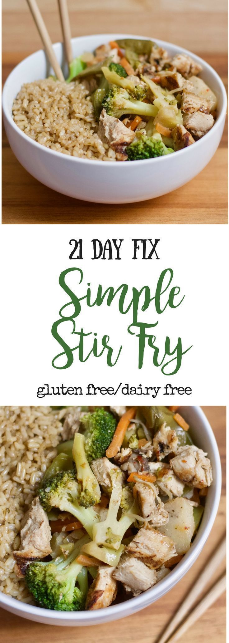 21 Day Fix Chicken And Veggie Stir Fry Confessions Of A Fit