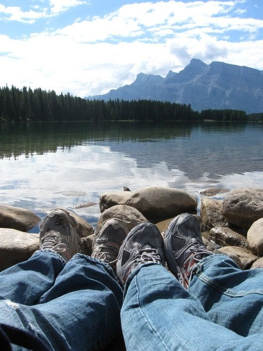 Two Jack Lake, Canmore, AB Canada. Where we took our honeymoon!
