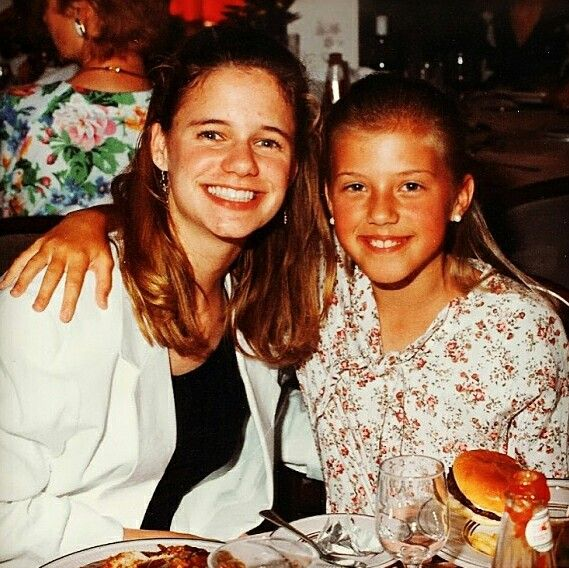 Andrea Barber and Jodie Sweetin.