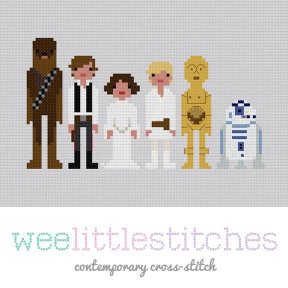 Star Wars - A New Hope - Cross-Stitch Pattern   Star Wars ...