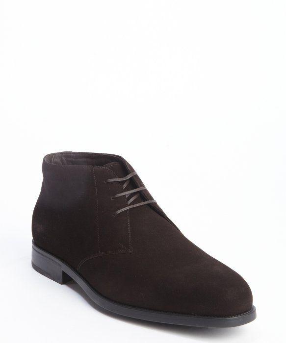 Salvatore Ferragamo Desert Boots - Marron lQElXFE32O