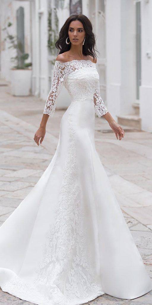 Photo of Best 15 Styles Of Wedding Dresses With Lace Sleeves