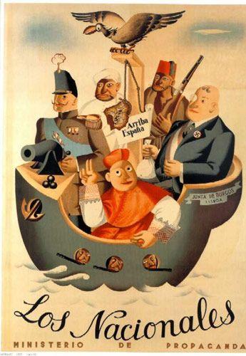 Affiche De Propagande Guerre Civile Espagnole : affiche, propagande, guerre, civile, espagnole, Épinglé, Carteles, Guerra, Civil