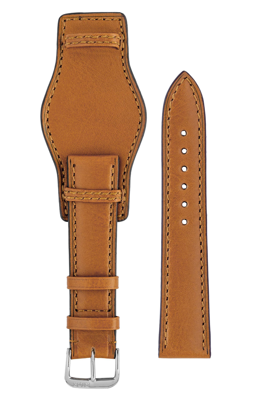 Rios1931 TULA Genuine Russia Leather Bund Watch Strap in