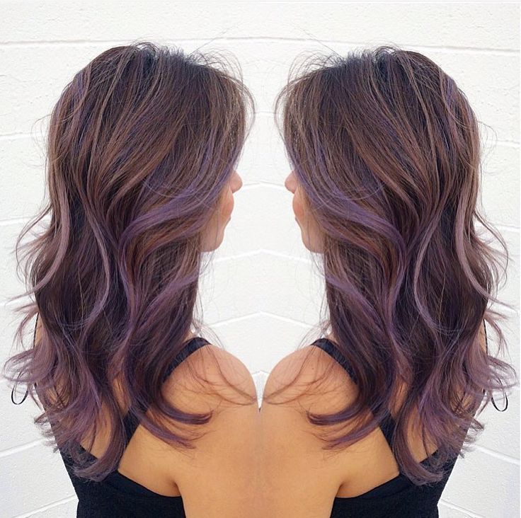 Lavender Brown Hair 1000 Ideas About Lavender Highlights On Pinterest Highlights Highlights Brown Hair Hair Hair Highlights