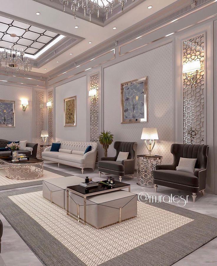 Na Dannom Izobrazhenii Mozhet Nahoditsya Gostinaya Stol I V Pomeshenii Sitting Room Interior Design Home Design Living Room Luxury Living Room Design