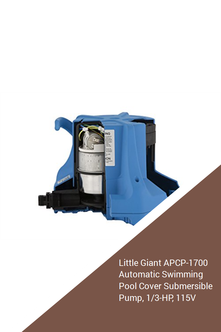 Pack of 1 LITTLE GIANT 5-APCP Automatic Pool Cover Pump ...