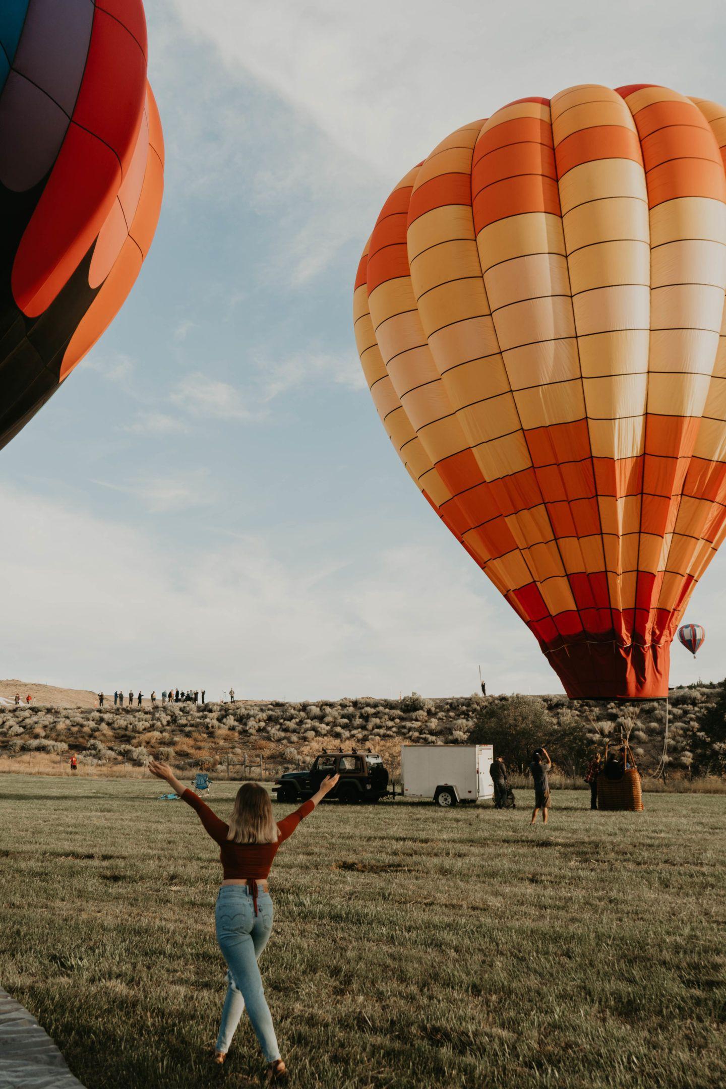 THE GREAT RENO BALLOON RACE Balloon race, Ballooning