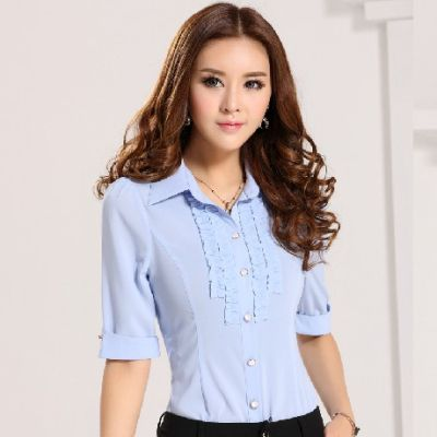 df0db2046a estilo de la moda blusas para mujer uniforme-Mujer Blusas y  Tops-Identificación del producto 300003502322-spanish.alibaba.com