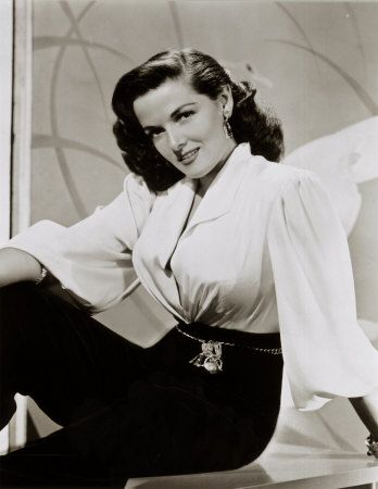Jane Russell in an outfit that I am seriously lusting after