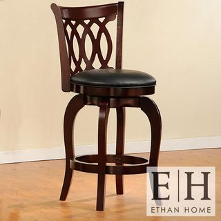 Verona Swivel 24 Inch Counter Height Stool By Inspire Q Classic