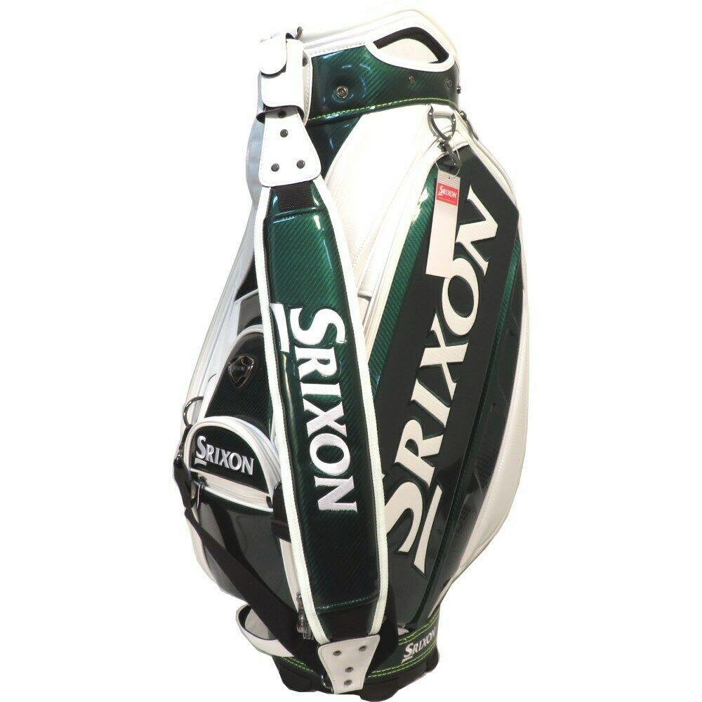 New Srixon 2019 Tour Staff Bag 9 5 Top Masters Green White Retail 699 28 Bids Golf Bags Bags Master Tour
