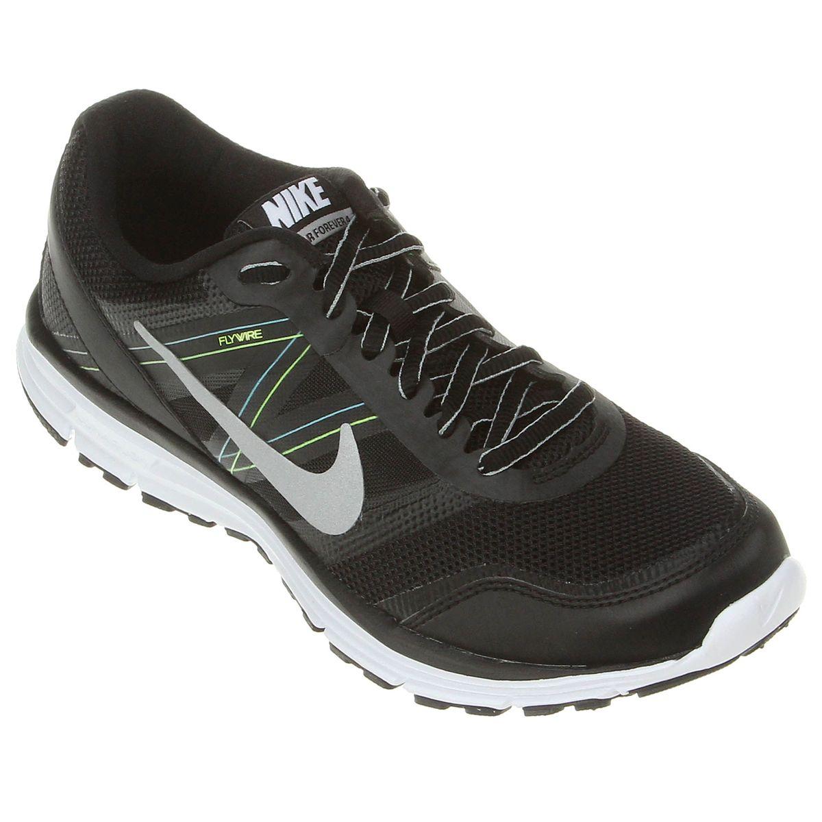 afe2e298881 Tênis Nike Lunar Forever 4 - Preto e Prata