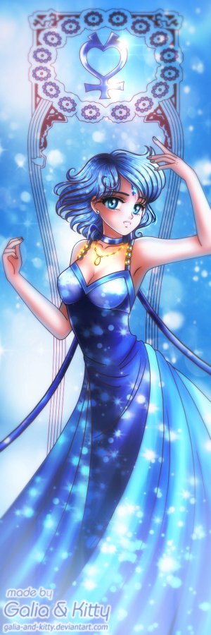 Princess Mercury by LoveSenshi on DeviantArt