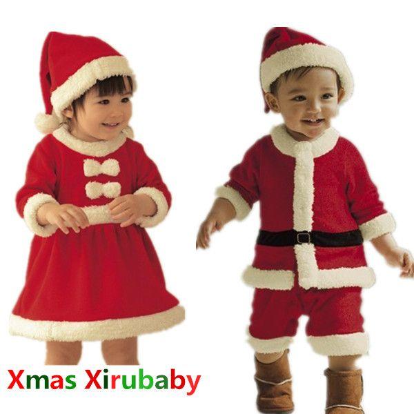 Cheap 2014 nuevos vestidos de ropa de beb de navidad - Trajes de navidad para bebes ...