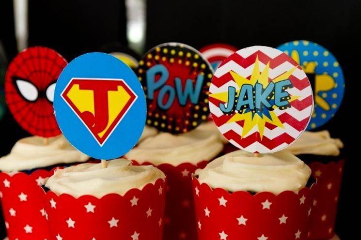 http://www.elizabethstreet.com/living/cupcake-ideas-superhero-birthday-party?section=home