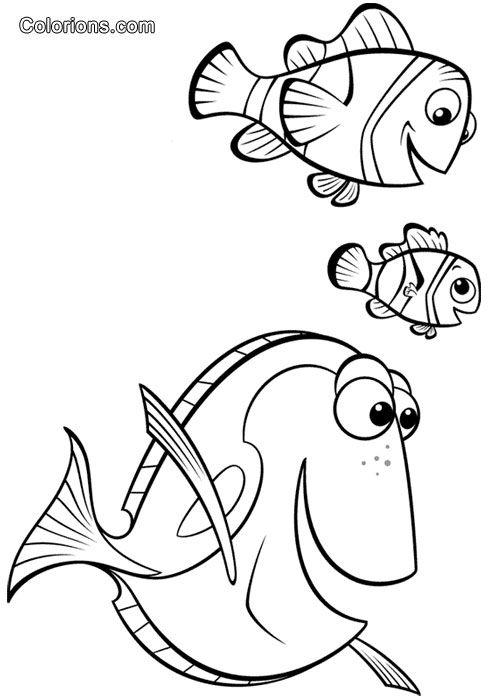 Colorionscom Galerie Le Monde De Nemo Coloriages Pinterest