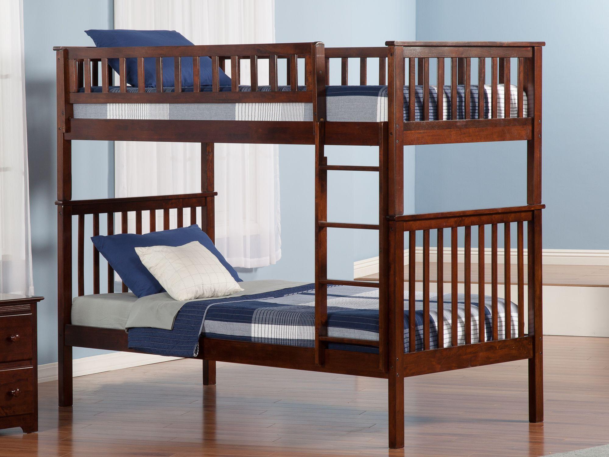 Woodland Bunk Bed Atlantic furniture, Twin bunk beds