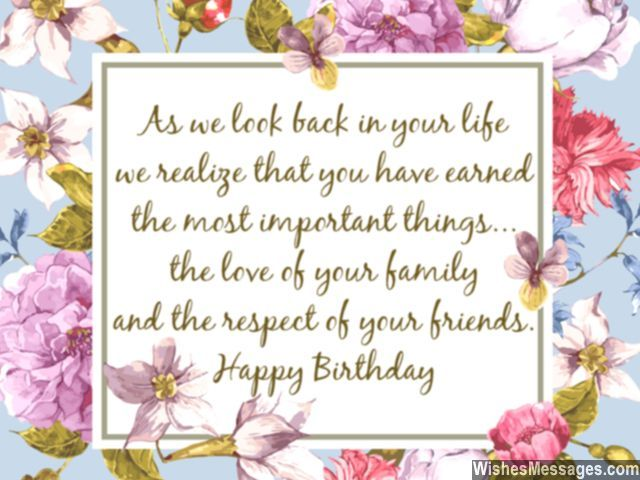 Beautiful words for 60th birthday wishes friends and family – 60 Birthday Card Messages