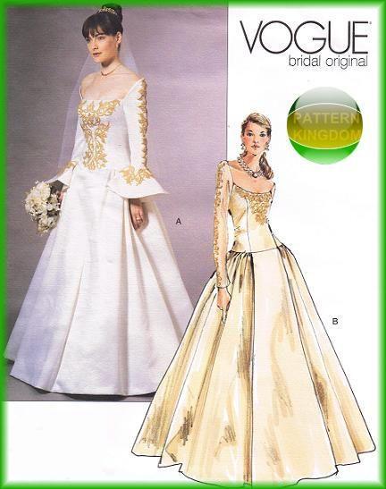 Best Wedding Dress Patterns