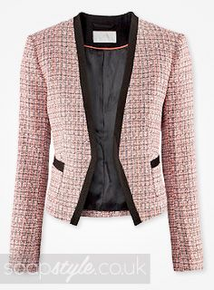Lucy&39s Tweed Boucle Jacket | To Wear | Jackets Coats &amp Blazers