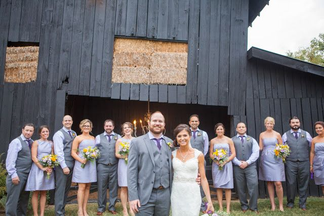 Rustic Barn Wedding / Kyle and Mike at #Cedarwood in #Nashville photo by Krista Lee Photography #photography #wedding #barn #purple #lavender #allure #cedarwoodweddings #bridal