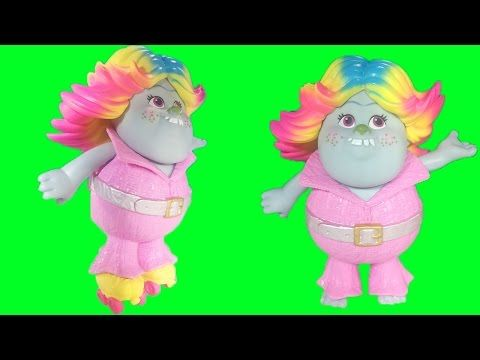 Dreamworks TROLLS Series 4 Blind Bag BRANCH Troll Doll Movie Blue Hair