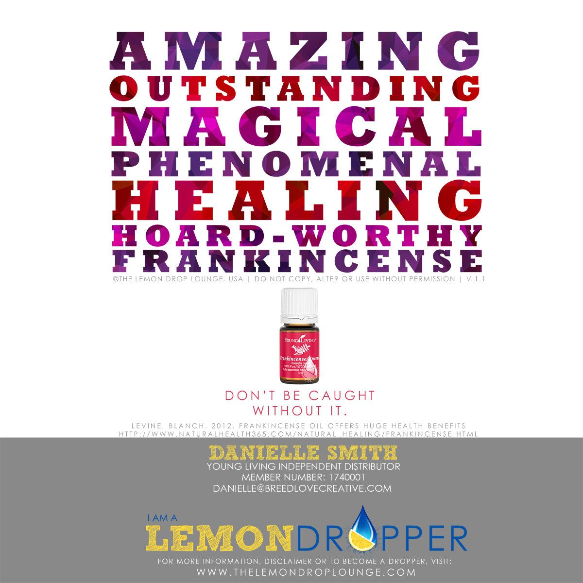 Frankincense - it's magical