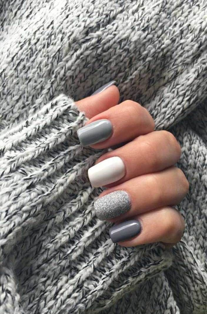 39 Trendy Fall Nails Art Designs Ideas To Look Autumnal And Charming Autumn Nail Art Ideas Fall N Cute Acrylic Nails Short Acrylic Nails Short Square Nails