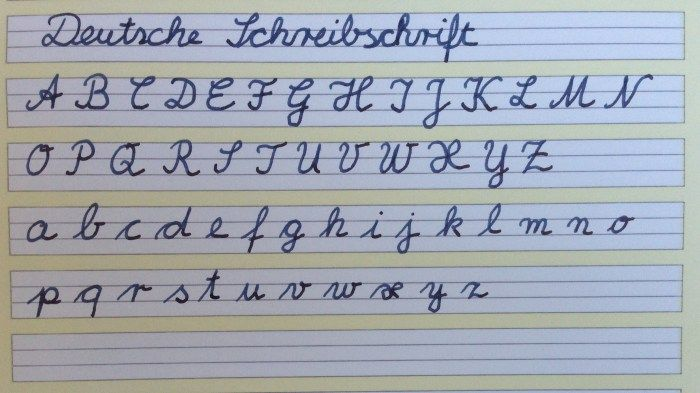 Deutsche Schulschreibschrift Handschreiberin Kindheit Kindheitserinnerungen Schreiben Lernen