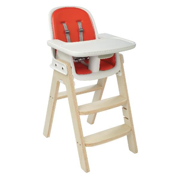 OXO Sprout High Chair / Youth Chair Orange/Birch www