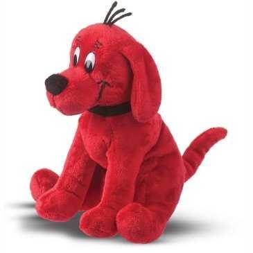 Plush Sitting Clifford The Big Red Dog, 85745