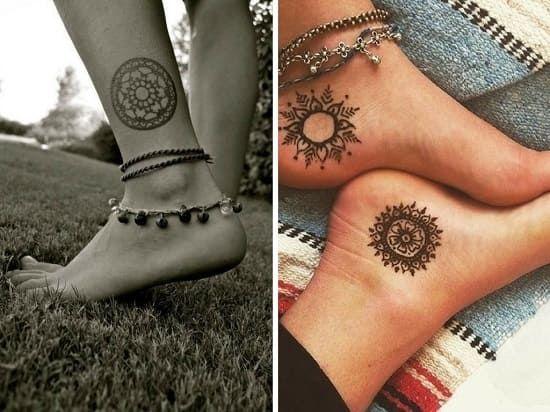 14 Idees De Tatouage Cheville Tatouage Cheville Tatouage Rond Tatouage Bracelet Cheville