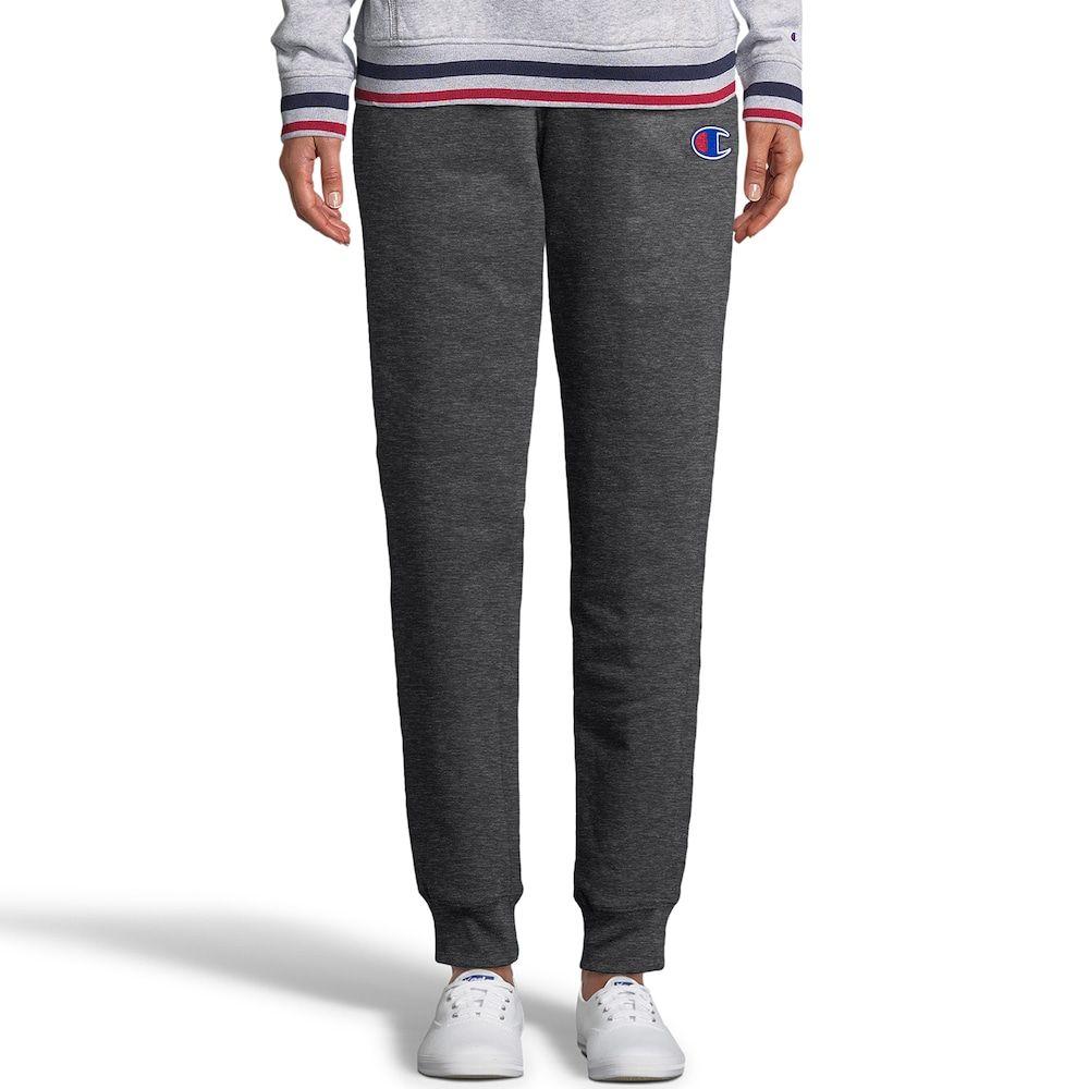 9700d105a5f276 Women's Champion Applique Fleece Mid-Rise Jogger Sweatpants, Size ...