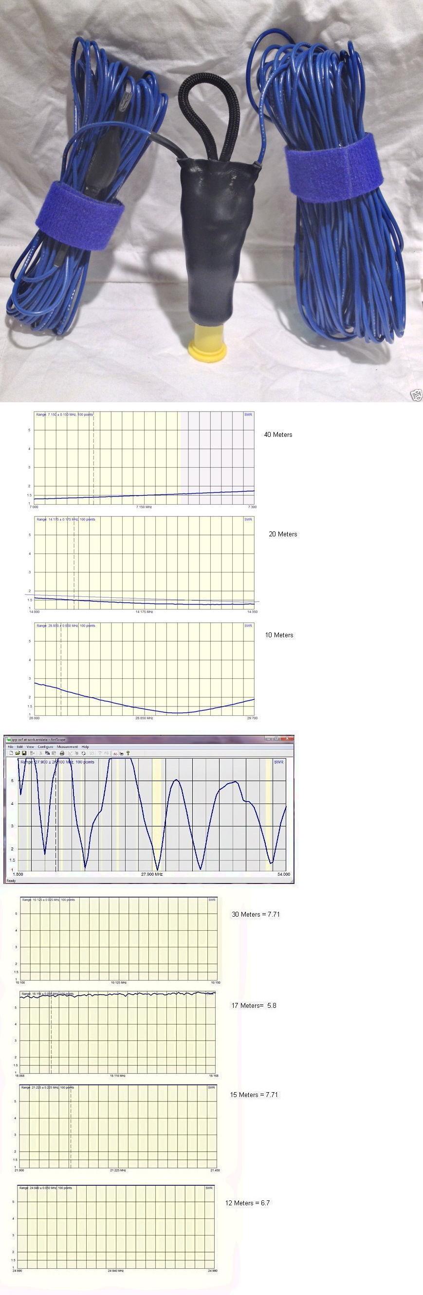 Ham Amateur Radio Antennas: Ultralight 40-6 Meter Hf Off