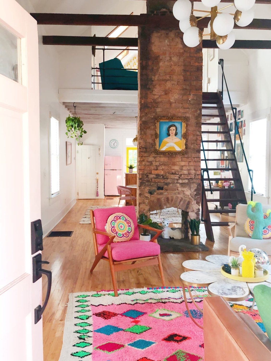 This House S Pink Door Is Just The Start Of Its Color Journey