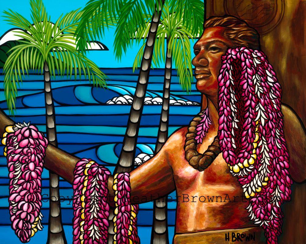 Waikiki Duke by Heather Brown