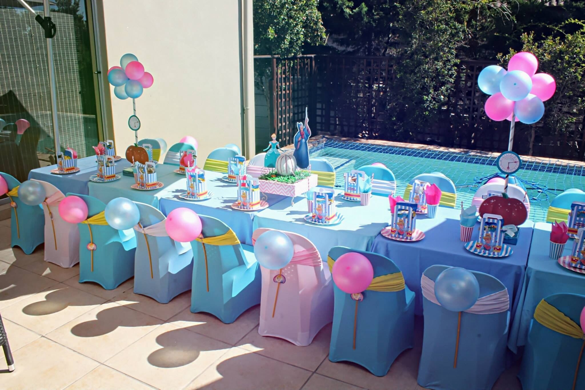 kiddies chair covers for hire cape town portable chairs retro cinderella kids party table by supakids sa