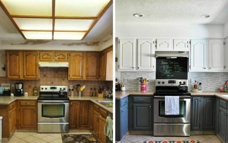 Küchenfronten austauschen - 37 Vorher-Nachher Beispiele ...