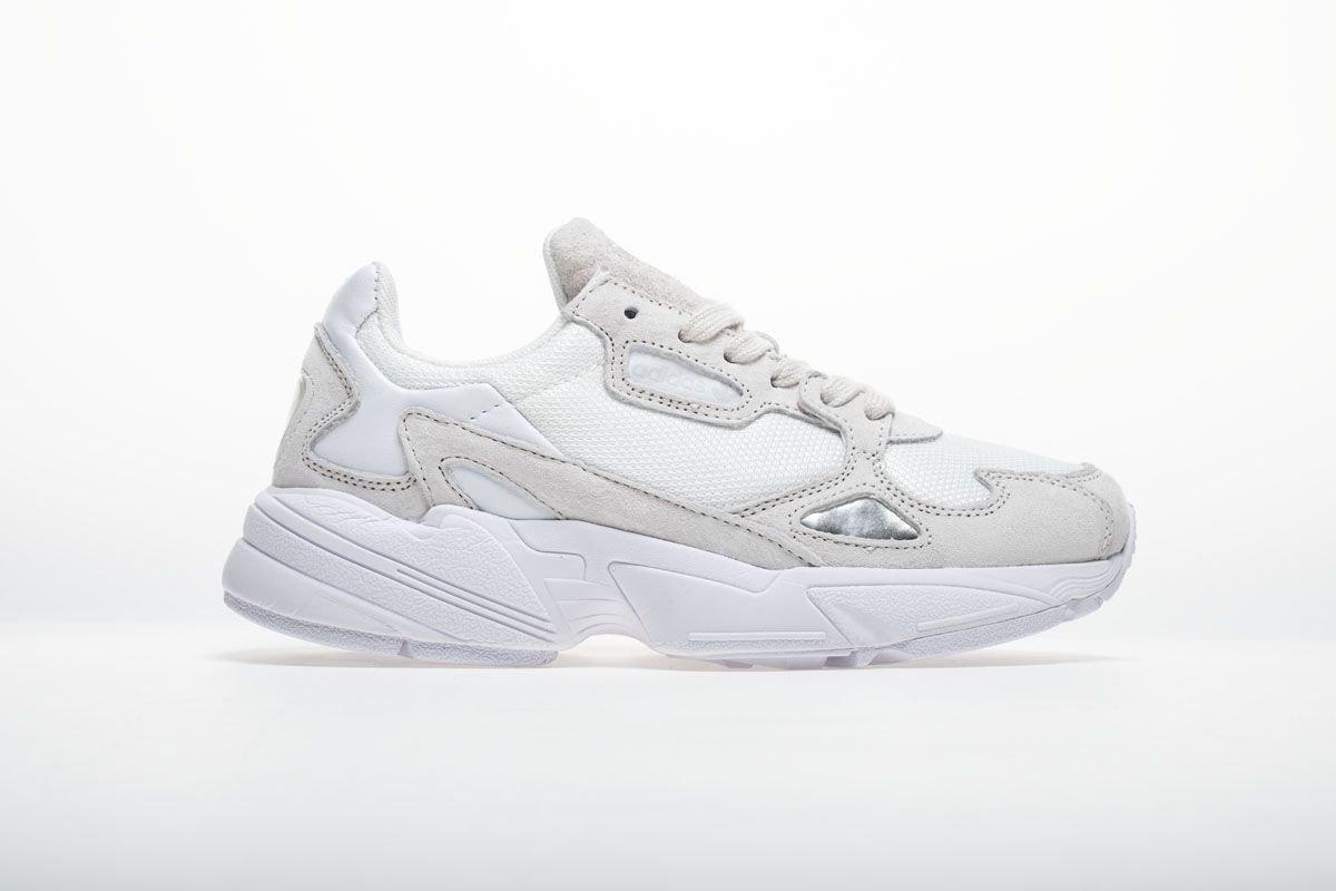 pretty nice 8ff2f 30244 Adidas Falcon W BB9174 YUNG-2 White Grey Shoes4