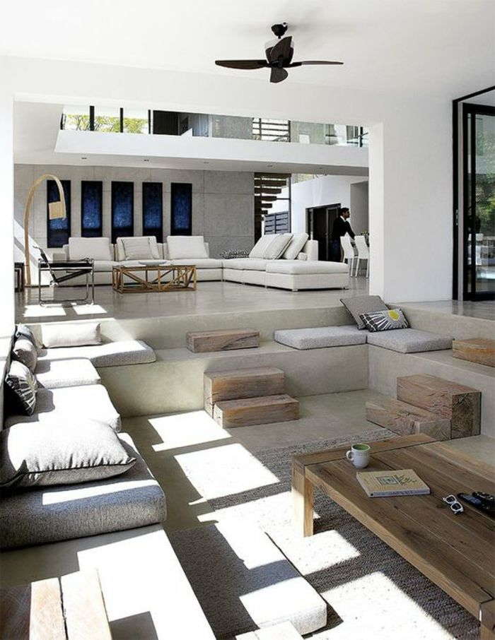 1001 ideas de decoraci n de casas minimalistas seg n las for Sala casa minimalista