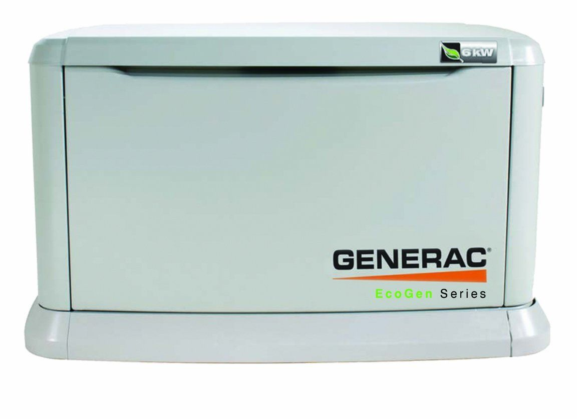 Overall Powerful Are Work Great Generac 5818 Ecogen Series 6kw