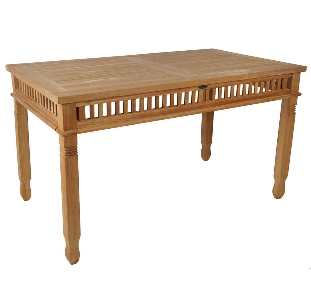 Kmh Teak Tisch Colonial 140x80 Cm Gartentisch Real De In 2021 Teakholz Tisch Teak Teak Holz